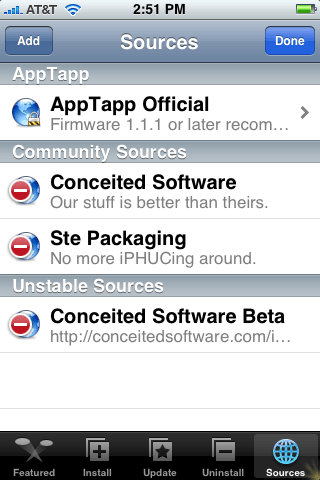 AppTapp Sources #2
