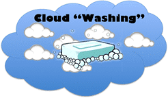 cloud-washing