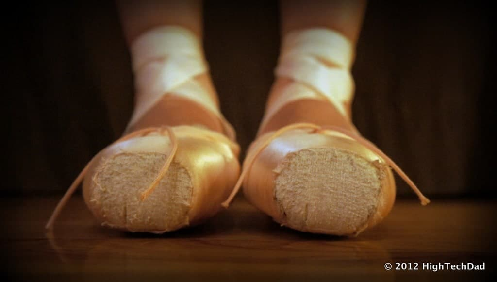 how to make ballet shoes out of duct tape