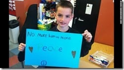 Martin Richard - No More Hurting People - Peace