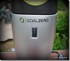GoalZero Escape 150 charge indicator
