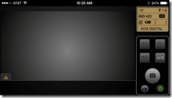 iUSBportCamera iPhone view camera control