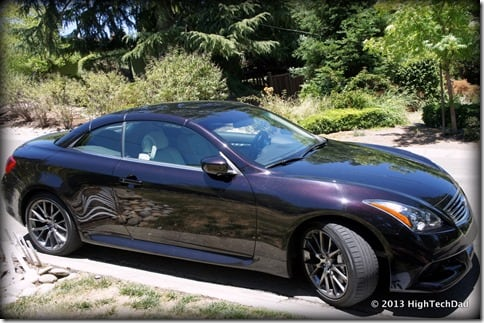 Side View - 2013 Infiniti G37 IPL convertible
