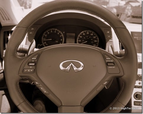 Steering Wheel - 2013 Infiniti G37 IPL convertible