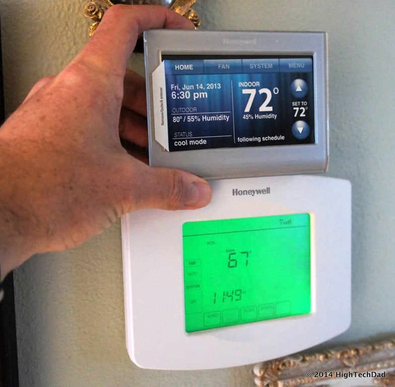Review  U0026 Giveaway  Honeywell Wifi Smart Thermostat  Rth9580