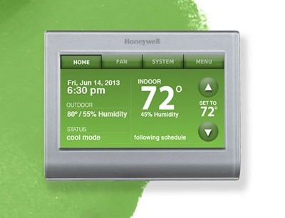 Wi_Fi_Smart_Thermostat_green