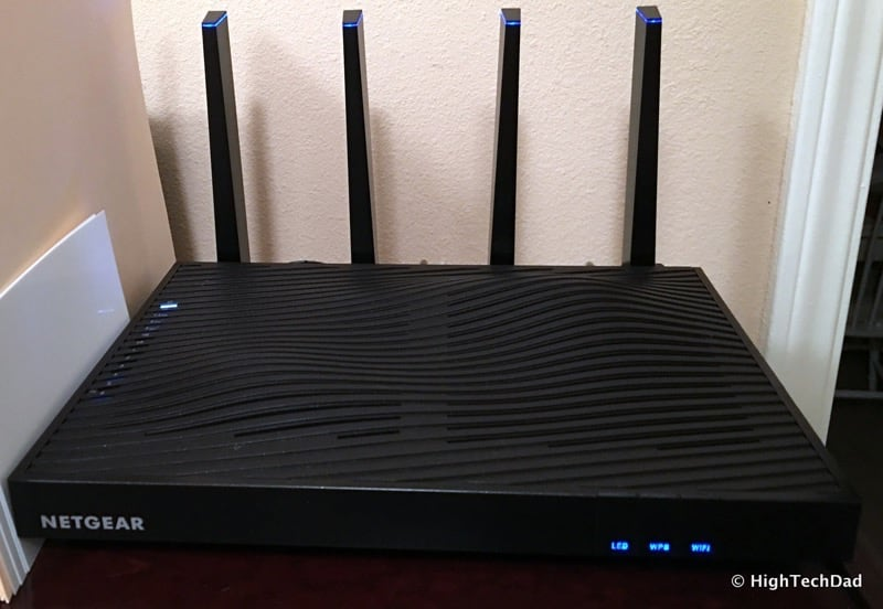 HTD NETGEAR Nighthawk X8 - Front Top View