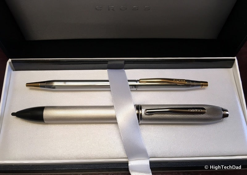 HTD Cross Pens - two unique pens, classic and modern