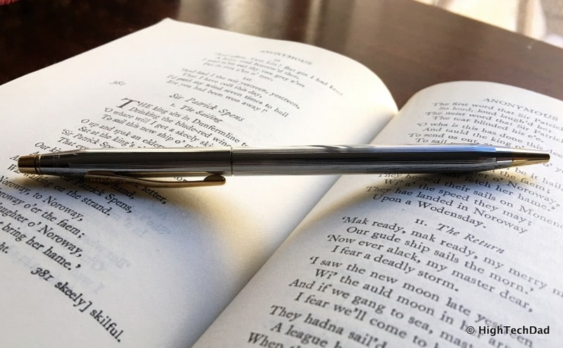 HTD Cross Pens - classic on a book