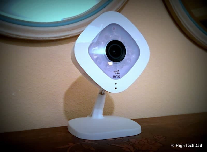 HTD NETGEAR Arlo Q - front view
