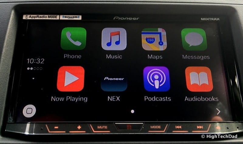 Pioneer AVH-4100NEX Review - Apple CarPlay