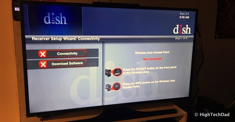 HTD - How To Set Up a DISH Wireless Joey - screen 1