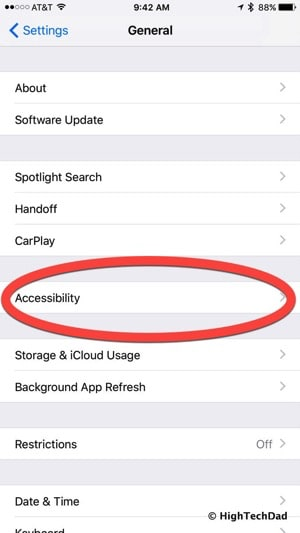 HTD Tip - Disable this setting to enable snazzy background & effect on iMessage in iOS 10 - Accessibility