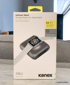 HighTechDad - Kanex GoPower Watch - in box