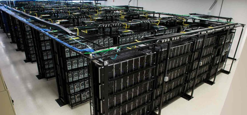 Build Something Brilliant - Liquid Web - data center racks