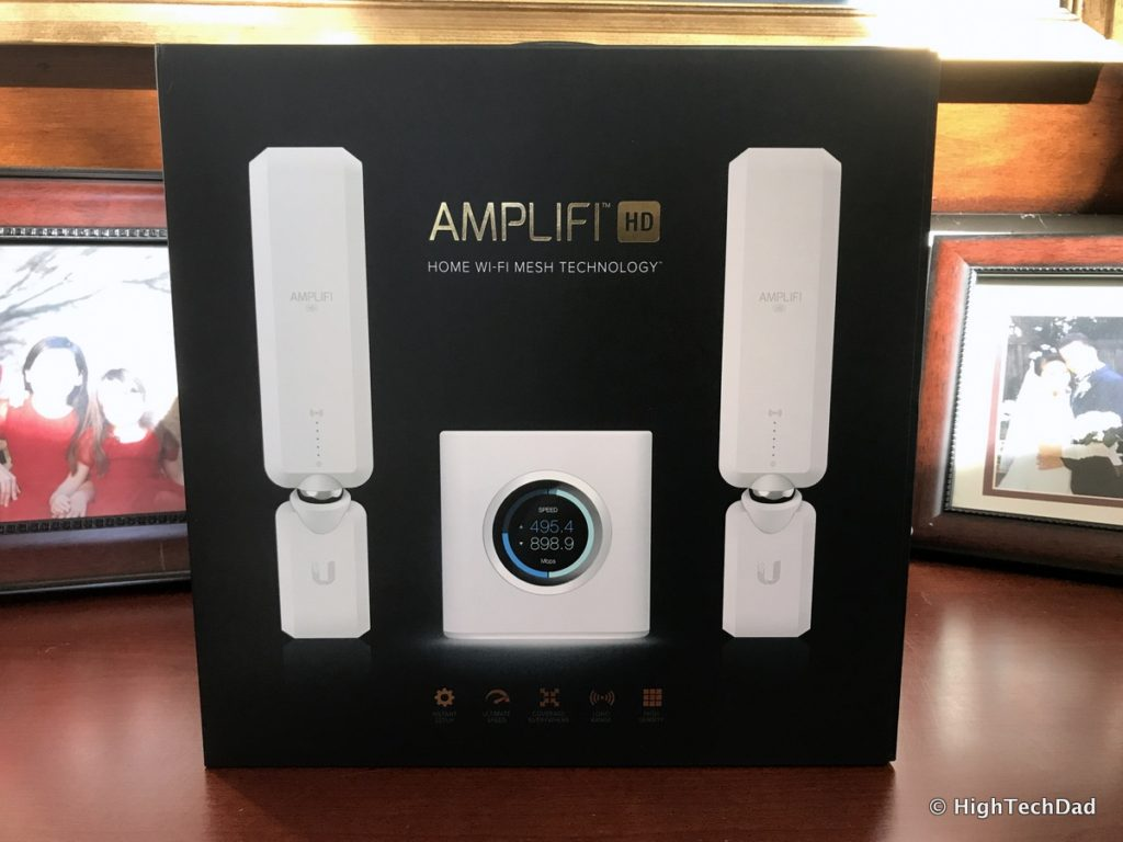 AmpliFi HD Mesh Wifi Router Review - box