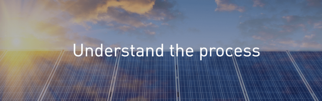 PG&E Renewable Energy Tools & Solar Panel info - understand the process