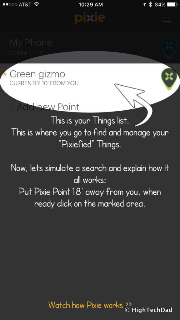 Pixie Bluetooth location system - another Pixie Point added