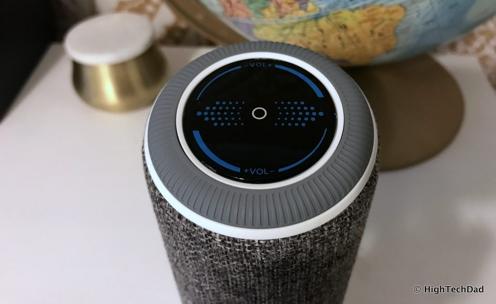 ARCHEER A225 Review - top control ring