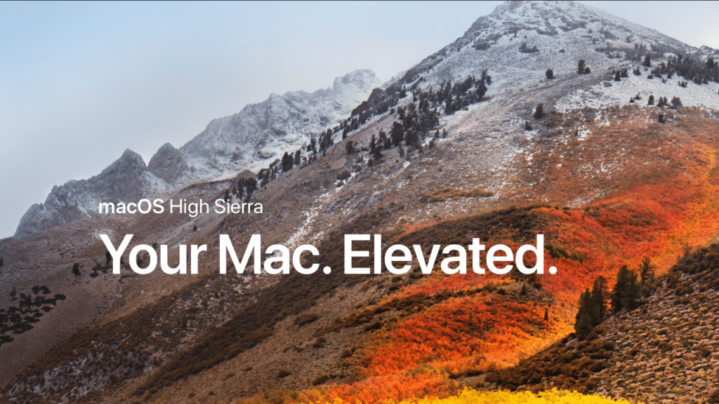 Apple beta iOS 11 & macOS 10.13 tips and tricks - High Sierra splash