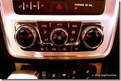 2013 GMC Acadia Front Climate Controls