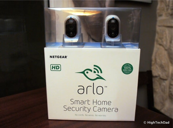 HTD NETGEAR Arlo - Packaging
