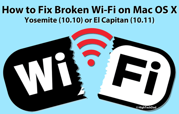 HTD How to Fix Broken Wi-Fi on Mac OS X
