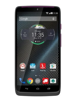 HTD DROID Turbo front screen