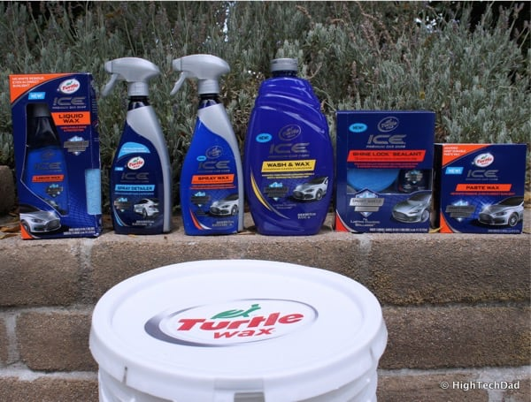 HTD Turtle Wax ICE Products