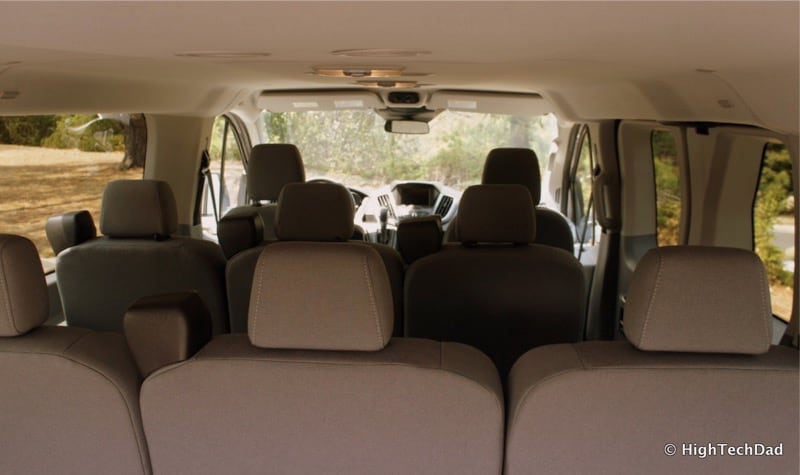 2015 Ford Transit Wagon XLT - View from back
