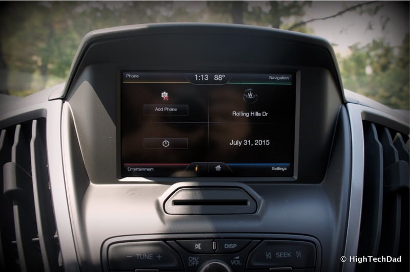 2015 Ford Transit Wagon XLT - FordTouch screen
