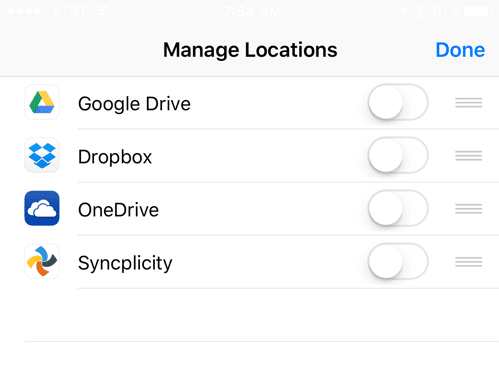 HTD Tip: How To Add Attachments in iOS 9 Email - enable locations
