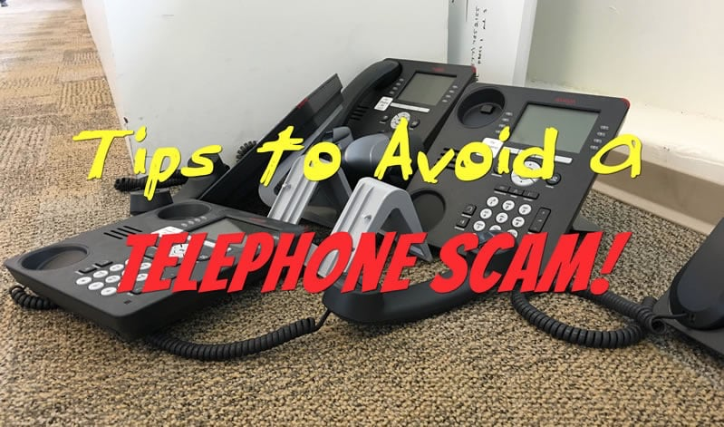 HTD Tips to Avoid a Telephone Scam