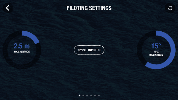 HTD Parrot Drone - Piloting Settings
