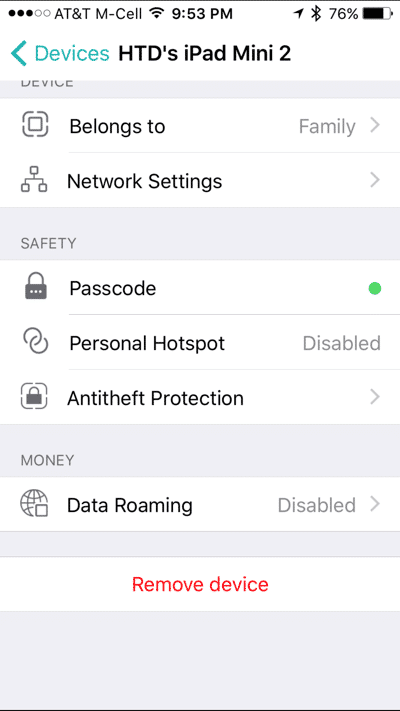HTD Bitdefender BOX - further iOS device protection