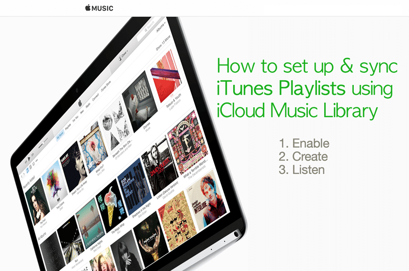 HTD Set Up & Sync iTunes Playlist - how to