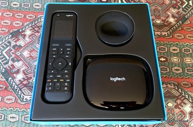 HighTechDad #LogiSmiles Father's Day Giveaway - Harmony Elite remote