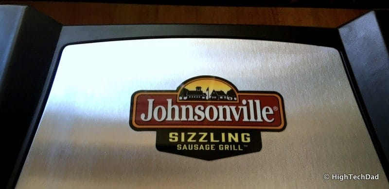 HighTechDad Johnsonville Sizzling Sausage Grill - logo