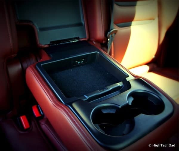 HighTechDad 2016 Mazda CX-9 Review - charging ports