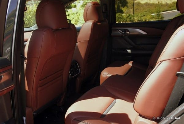 HighTechDad 2016 Mazda CX-9 Review - middle row seats