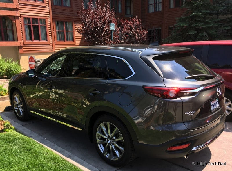 HighTechDad 2016 Mazda CX-9 Review - side rear view