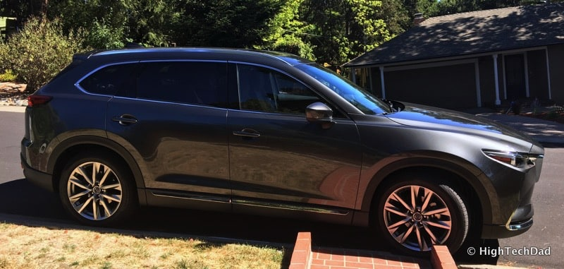 HighTechDad 2016 Mazda CX-9 Review - side view
