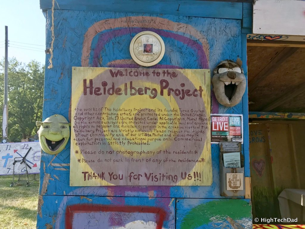 HTD 2018 Chevy Traverse - About Heidelberg Project