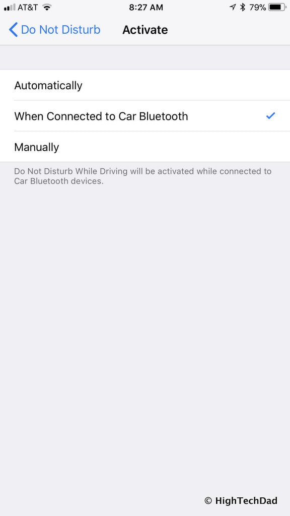 HTD's top iOS 11 features - DND auto