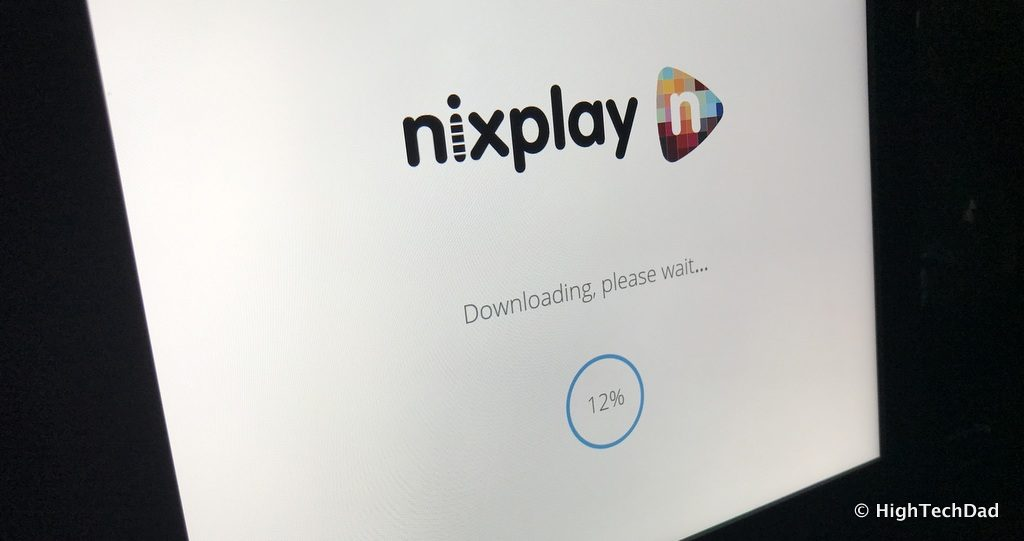 Nixplay Seed Digital Frame Review - updating