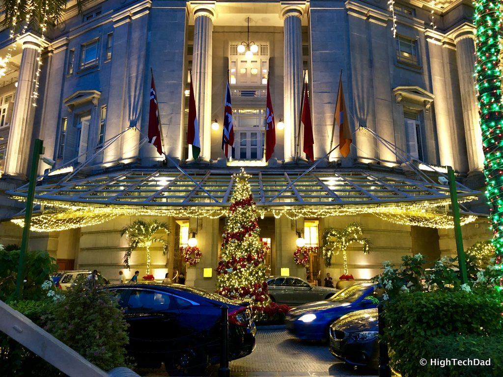HTD Apple iPhone X - The Fullerton Hotel in Singapore