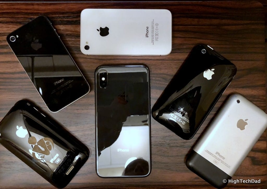 HTD Apple iPhone X - many iPhones
