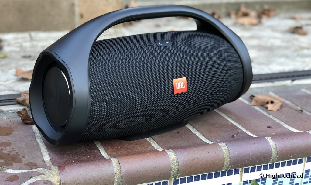 HTD JBL Boombox Bluetooth Speaker Review - by pool