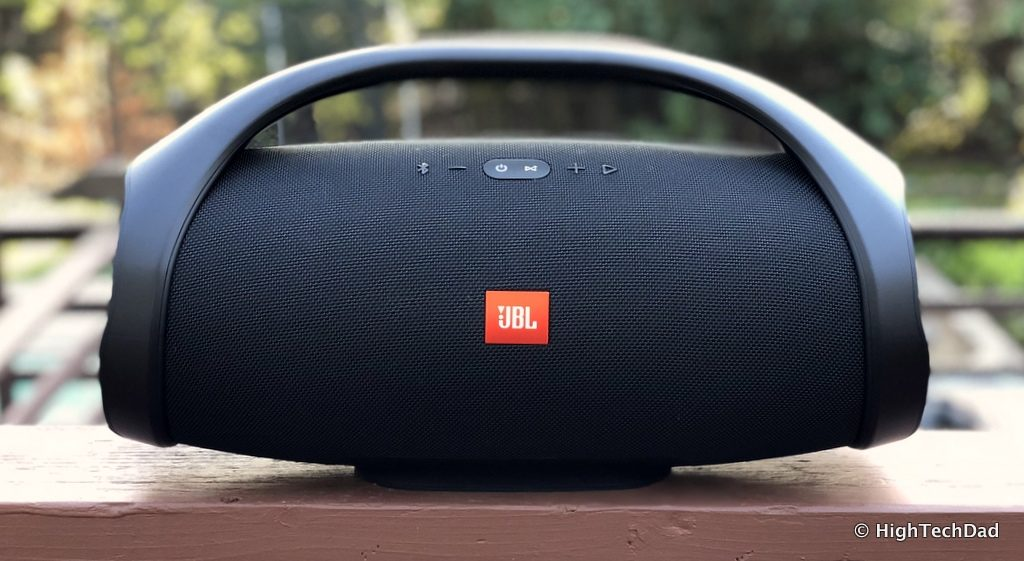 HTD JBL Boombox Bluetooth Speaker Review - outside