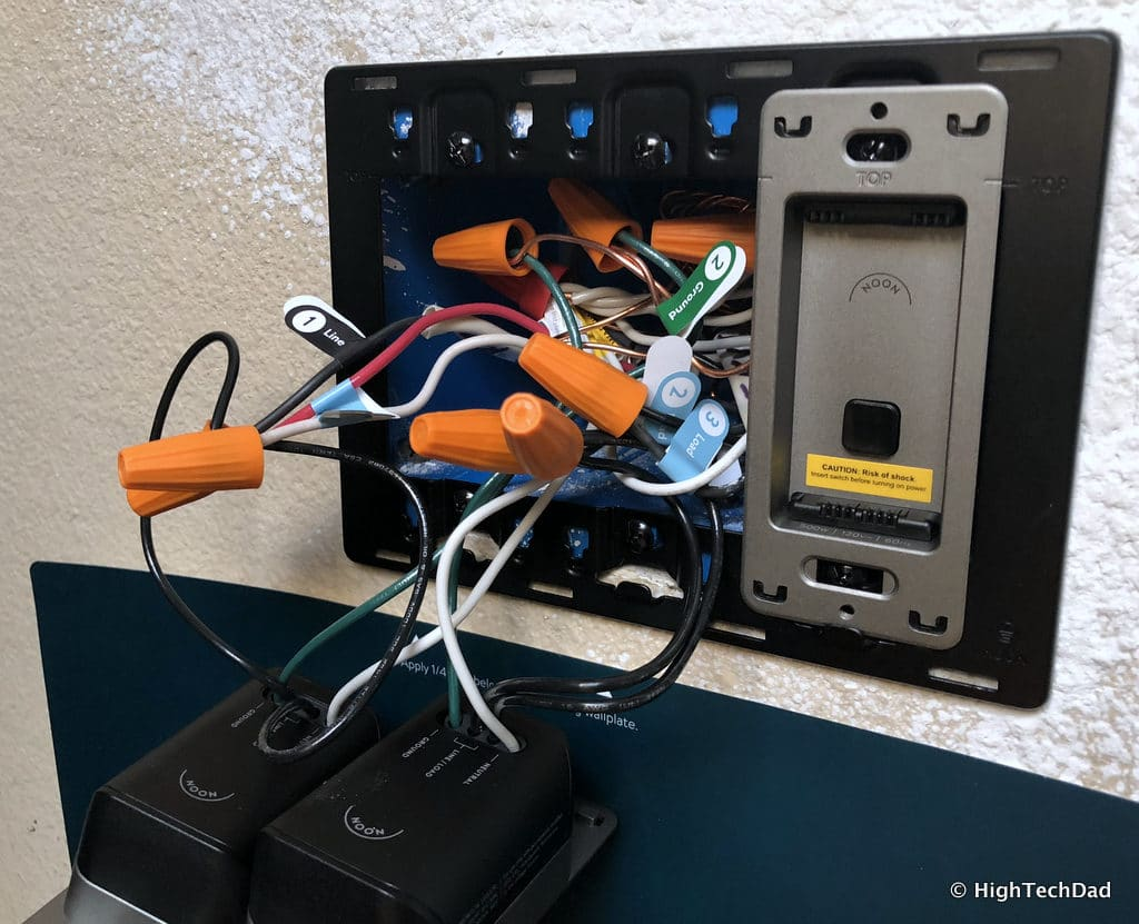 Noon Home Intelligent Switches - wiring up Noon bases